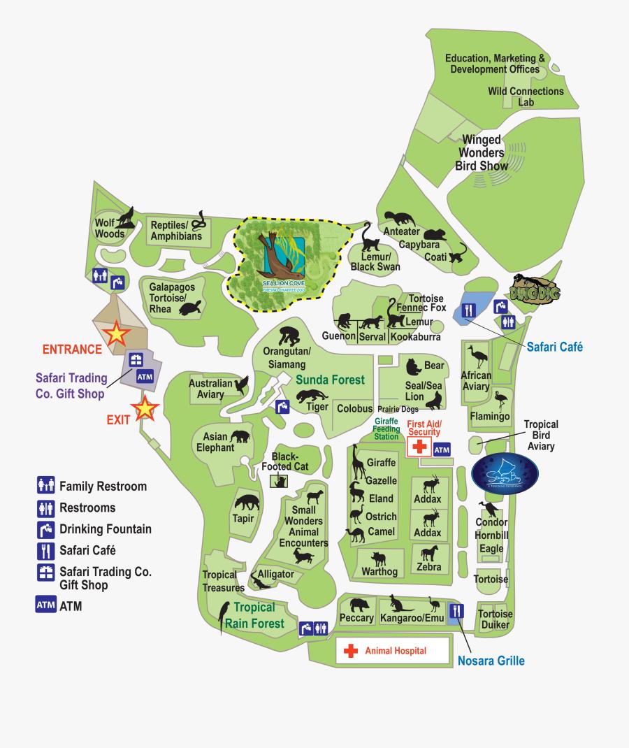 Transparent Cartographer Clipart - Fresno Chaffee Zoo Kingdom Of Asia, Transparent Clipart