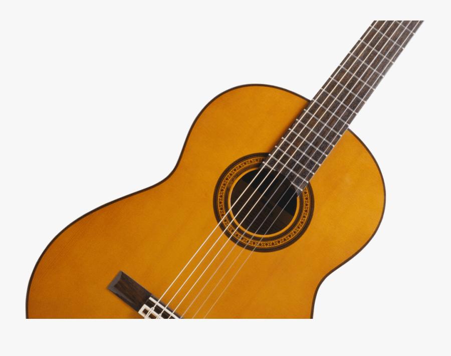 Guitar Clipart Wooden Transparent - Acoustic Guitar Transparent Background, Transparent Clipart