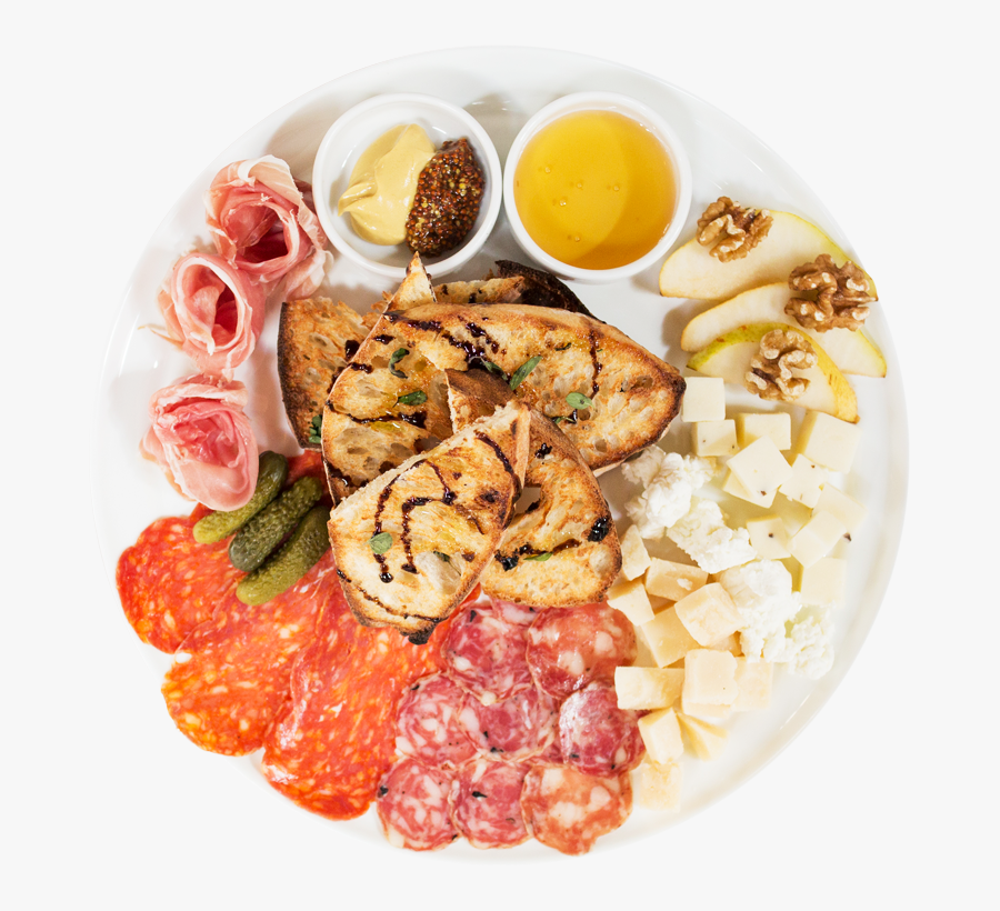Midici Meat And Cheese Plate, Transparent Clipart