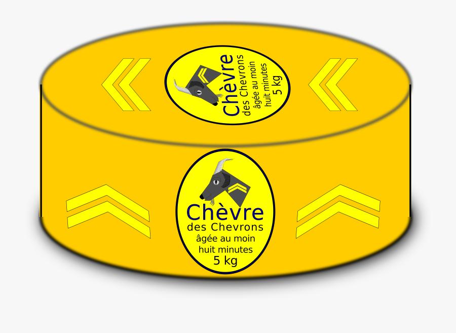 Cartoon Cheese Wheel Clip Arts - Cartoon Cheese Wheel, Transparent Clipart