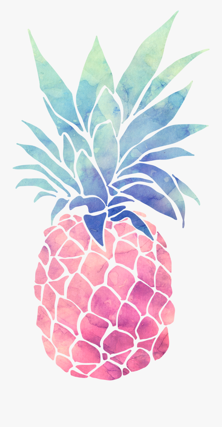 Temporary Tattoos Pineapples - Pineapple Wallpaper For Ipad, Transparent Clipart