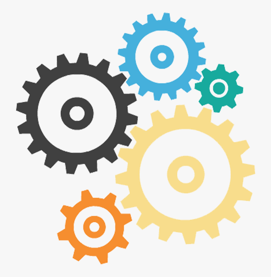 Gear Png Color - Mechanical Happy Engineers Day, Transparent Clipart