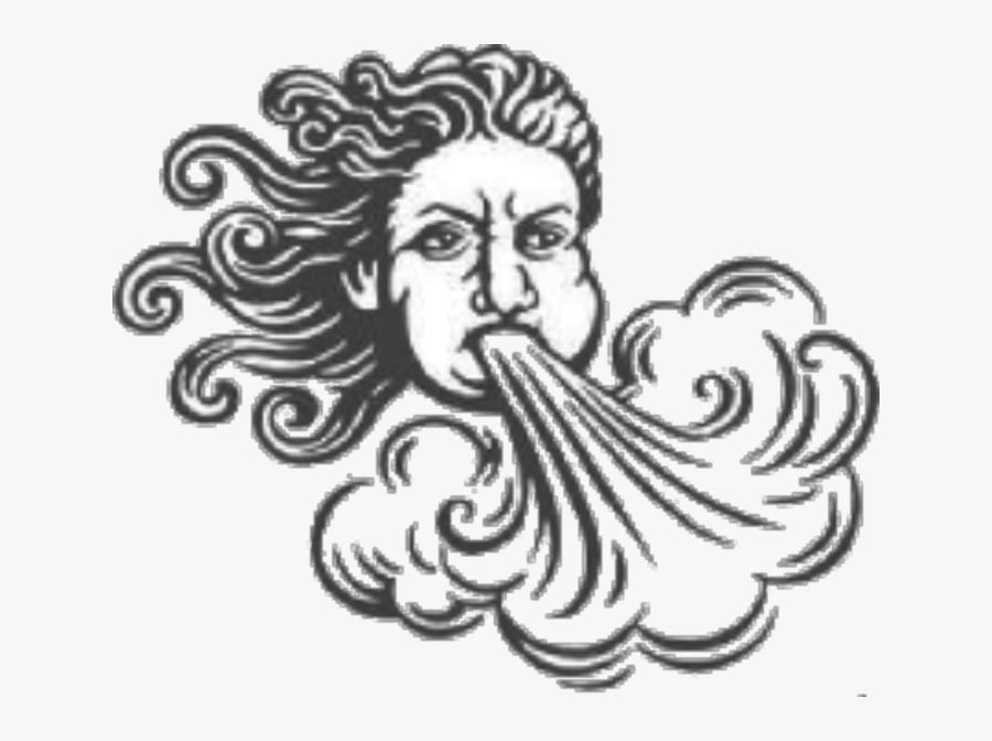 God Of Wind Cartoon, Transparent Clipart