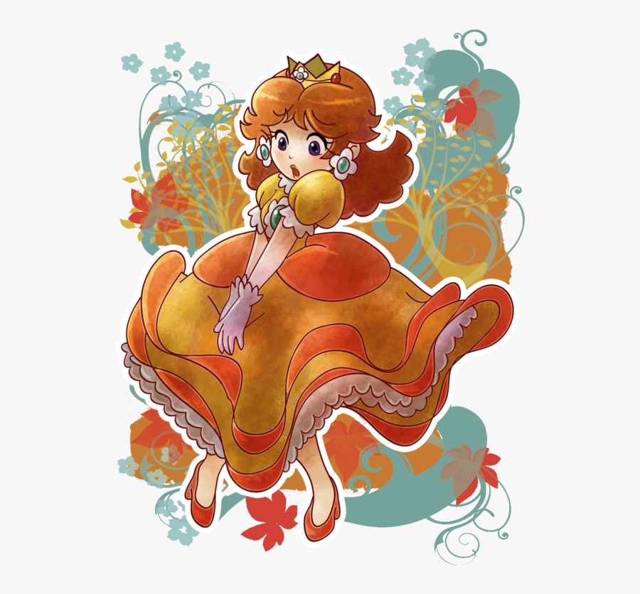 Download Princess Daisy Blowing Clipart Princess Daisy - Princess Daisy Art, Transparent Clipart