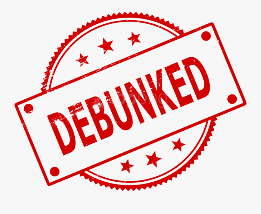Free Png Debunked Stamp Png - Clip Art, Transparent Clipart