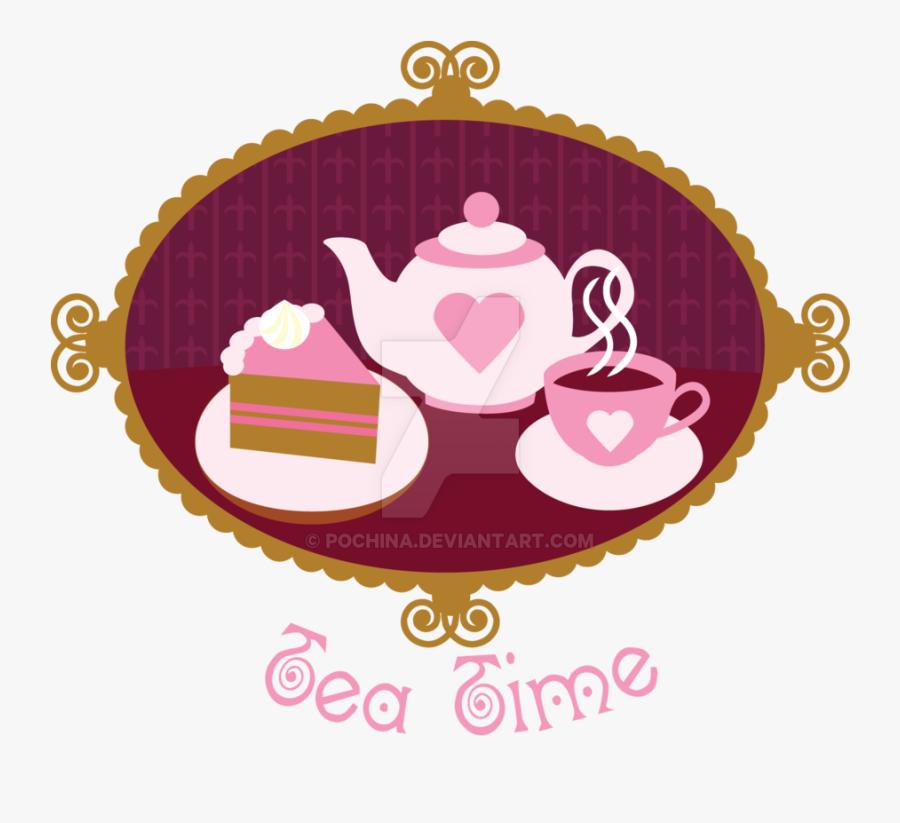 Tea Time Clipart Transparent - Tea Time Logo Clip Art, Transparent Clipart