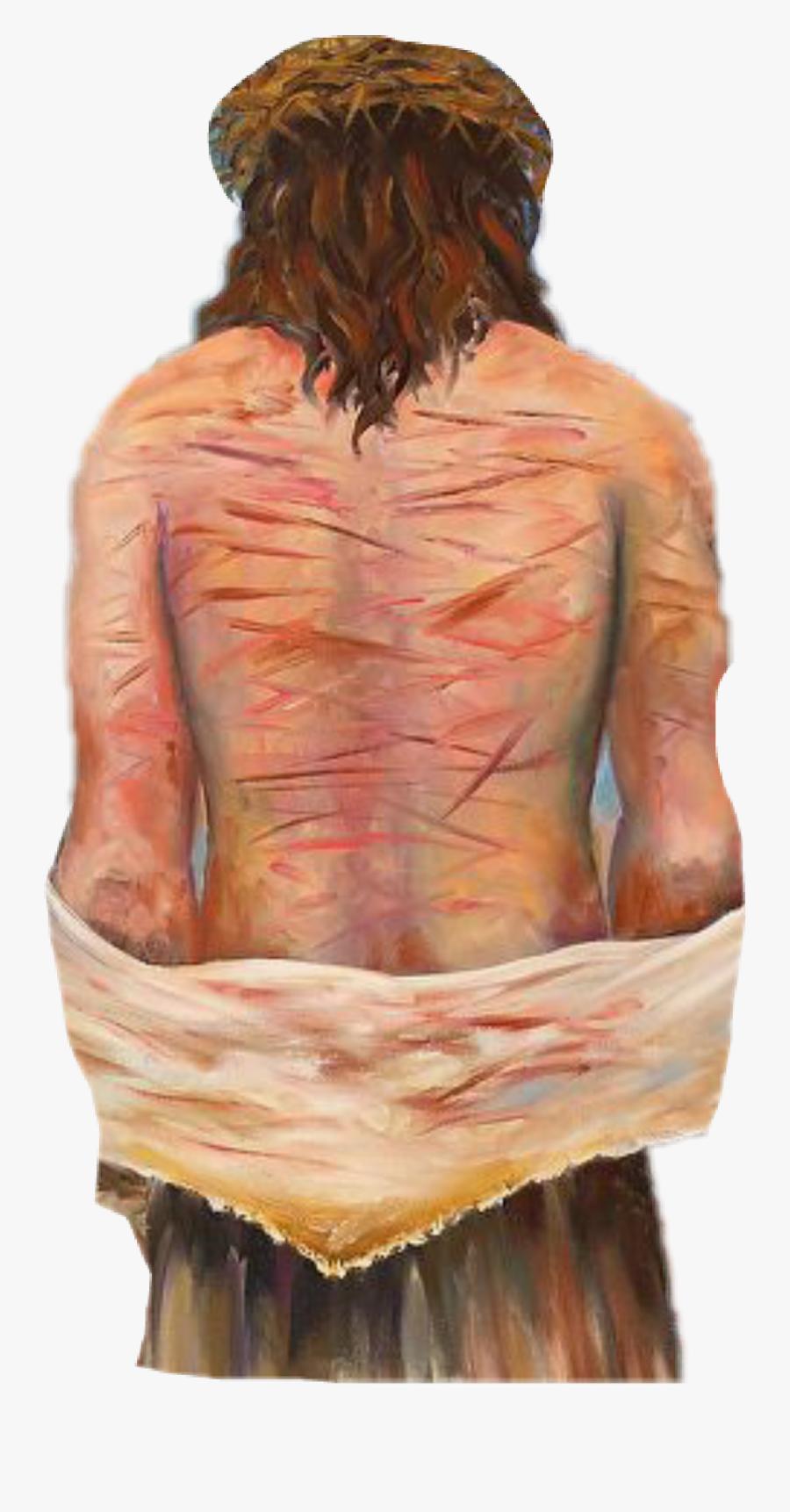 Transparent Cool Jesus Png - Jesus Stripped Of Clothes, Transparent Clipart