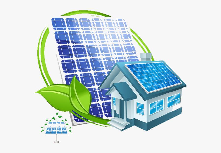 Transparent Solar Power Plant Clipart, Transparent Clipart