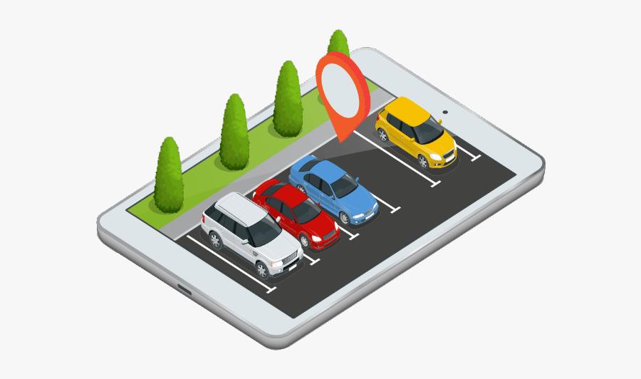Smart Parking, Transparent Clipart