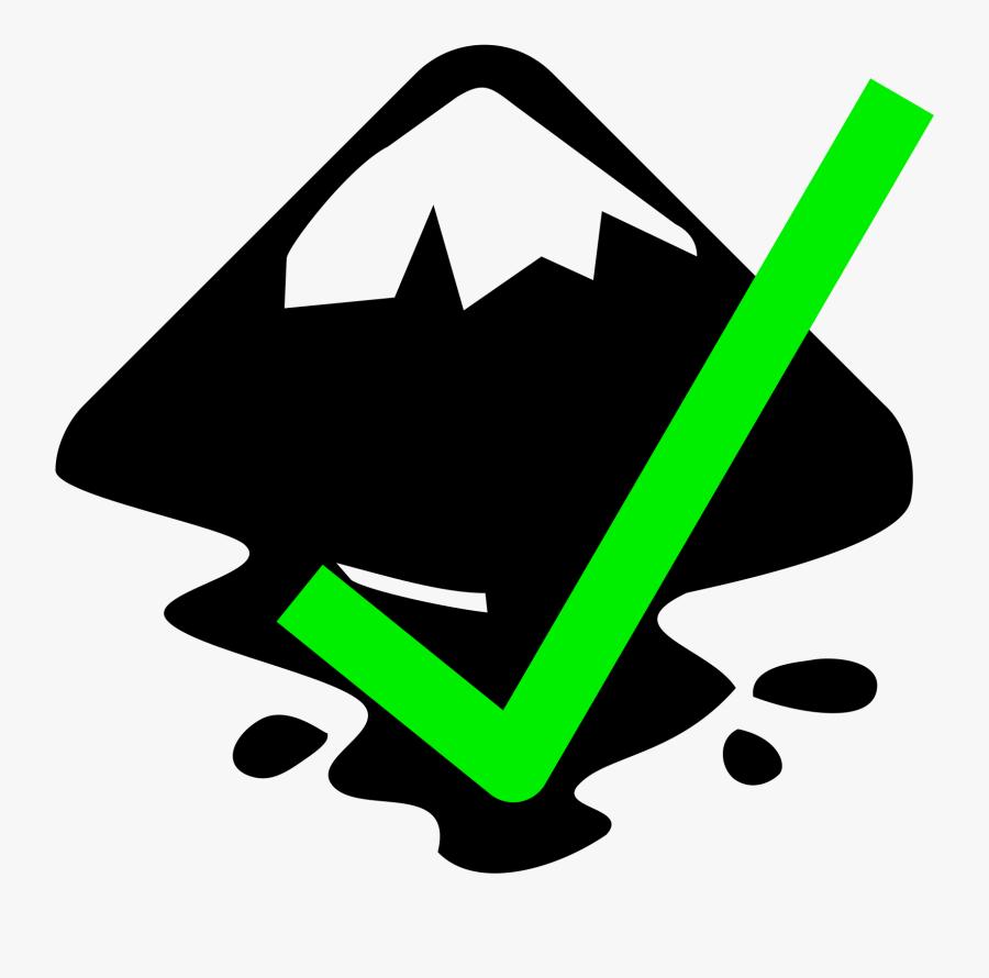 File Yes Wikipedia Fileinkscapeyessvg - Inkscape Logo, Transparent Clipart