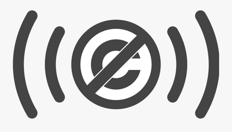Public Domain Audio Symbol - Public Domain Png, Transparent Clipart