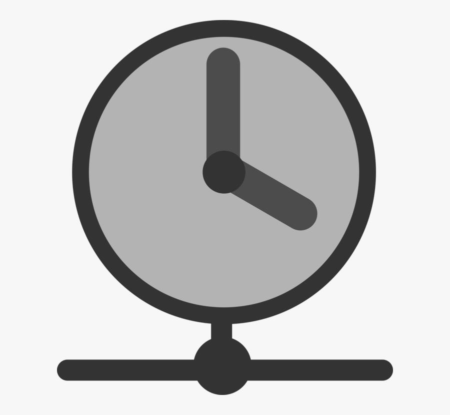 Symbol,circle,line - Network Time Protocol, Transparent Clipart