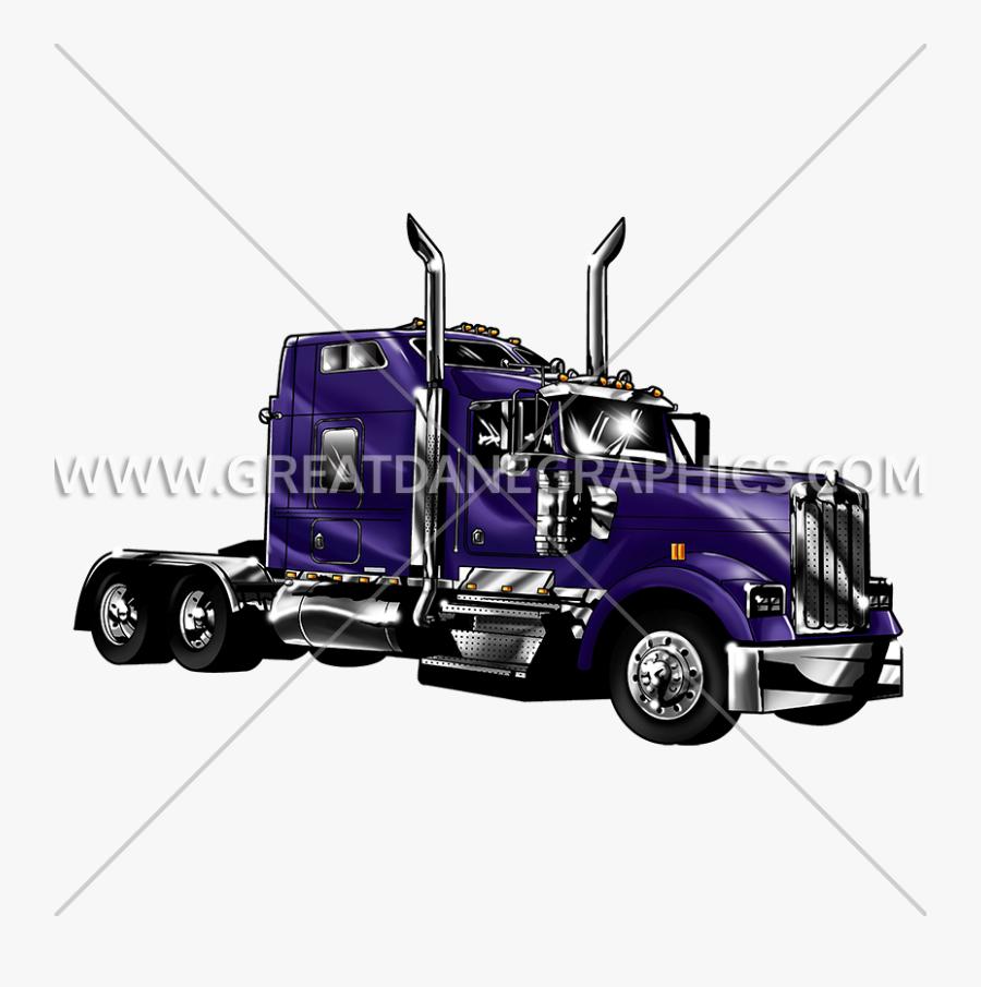 Motor Art,tow Car - Trailer Truck, Transparent Clipart