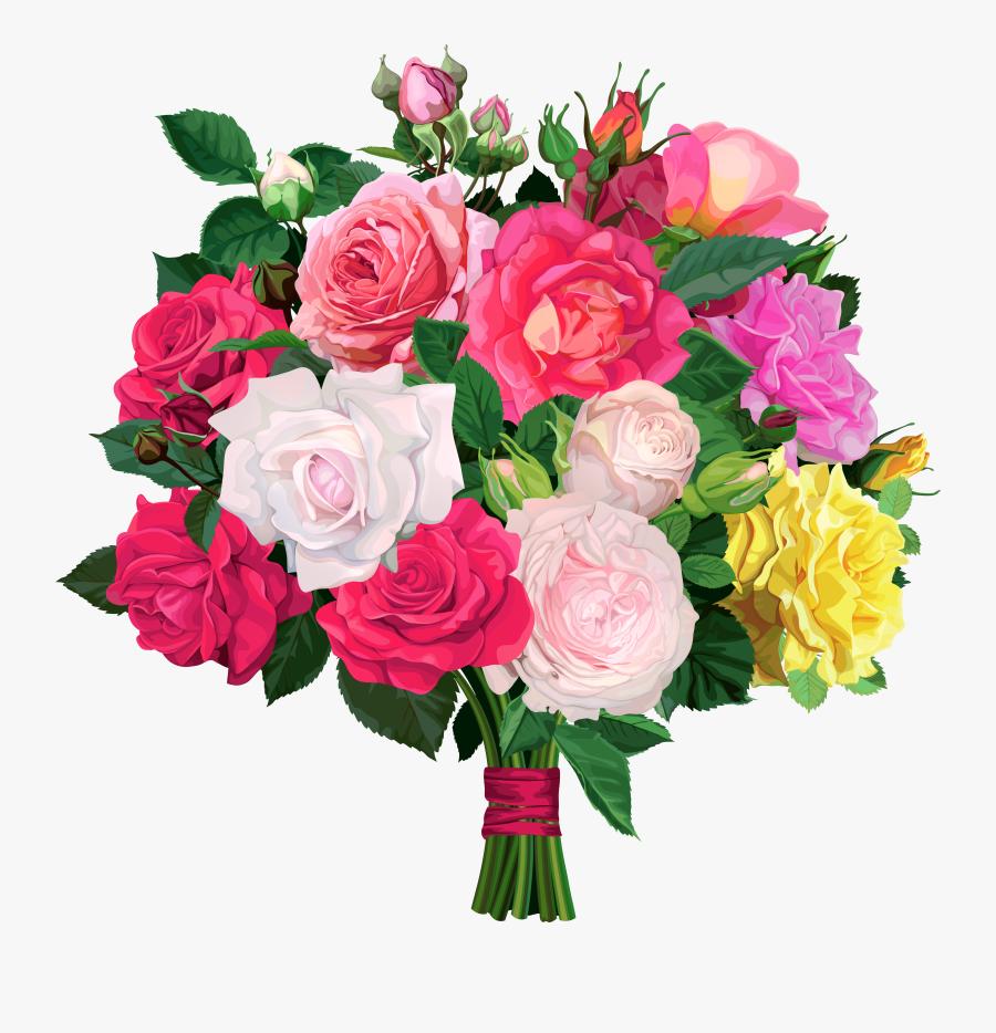 Bouquet Of Flowers Transparent, Transparent Clipart