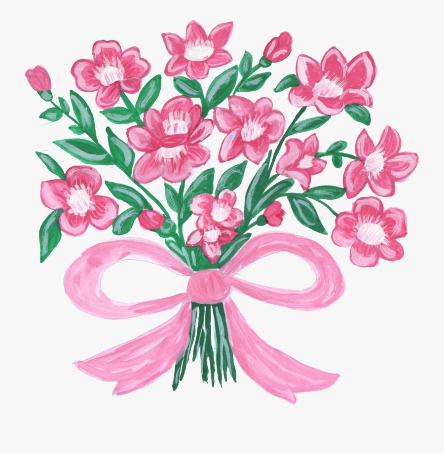 Clip Art Download Techflourish Collections Bouquet - Flower Bouquet Clip Art, Transparent Clipart