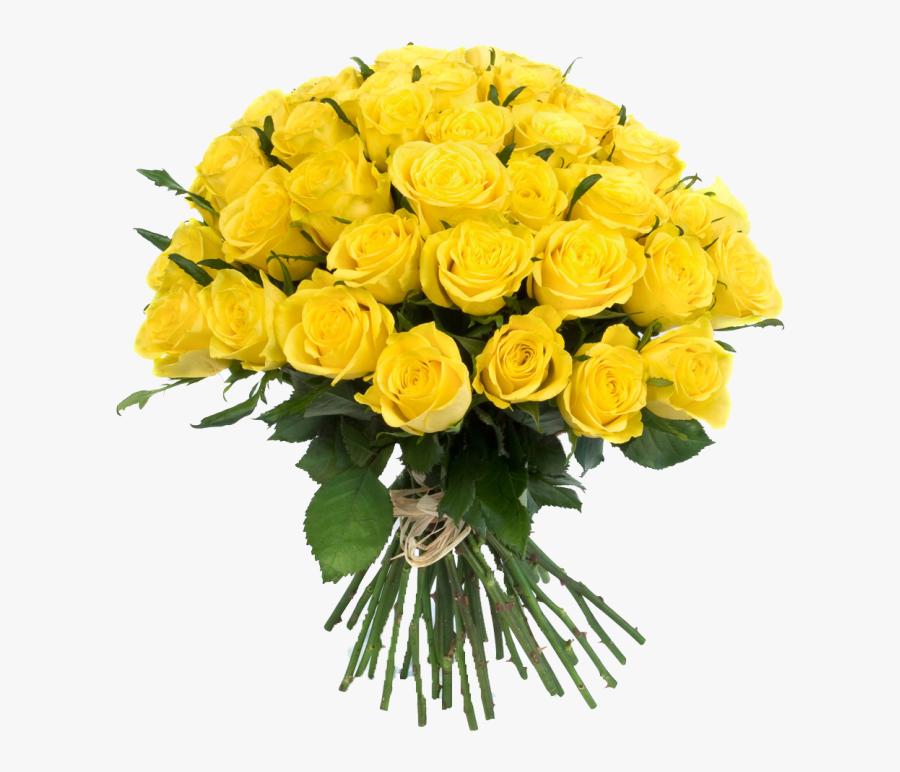 Yellow Flower Bouquet Transparent Background, Transparent Clipart