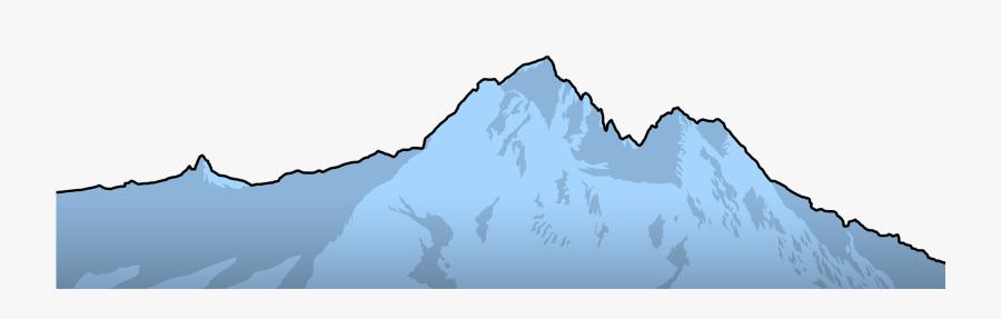 Collection Of Profile - Blue Ridge Mountain Clip Art, Transparent Clipart