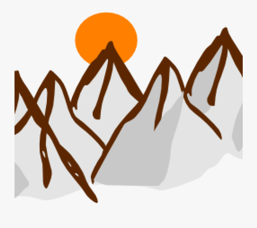 Mountain Range Clip Art Range Clipart Cute Borders - Mountain Range Clipart, Transparent Clipart