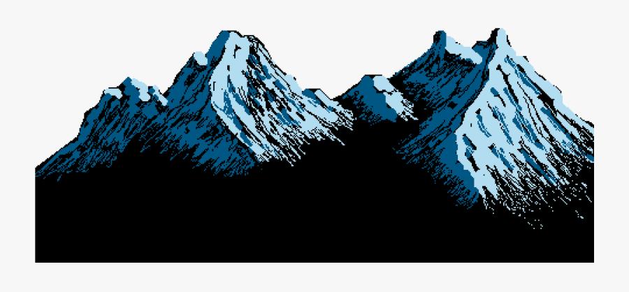 Mountain Range Transparent Background - Transparent Background Mountain Clipart, Transparent Clipart