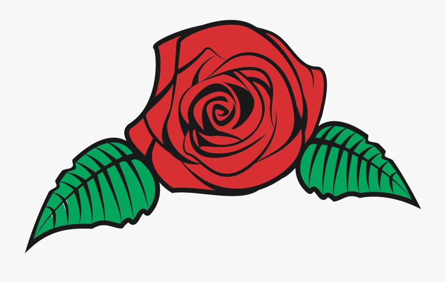 Transparent Flower Bouquet Clipart - Rose Flower Vector Png, Transparent Clipart