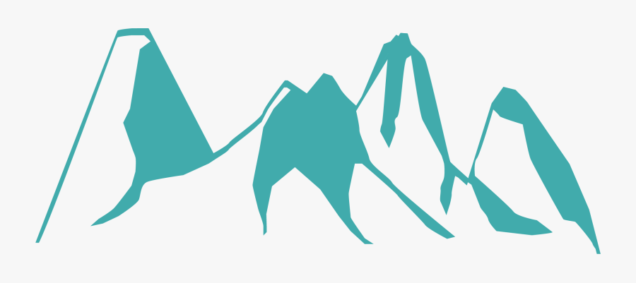 Beautiful Mountain Drawing Silhouette - Rocky Mountain National Park Drawing, Transparent Clipart