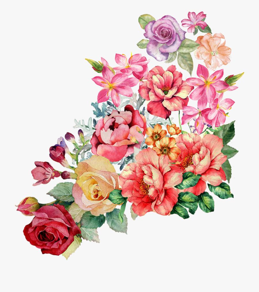 Vector,flower,vector Art,flower Vector,vector Flower - Print Floral Textile Design, Transparent Clipart