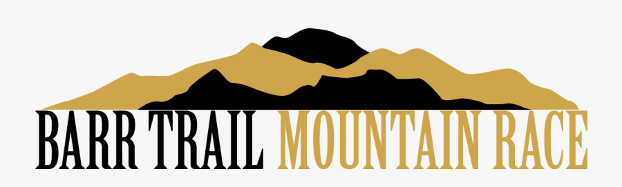 Barr Trail Mountain Race, Transparent Clipart
