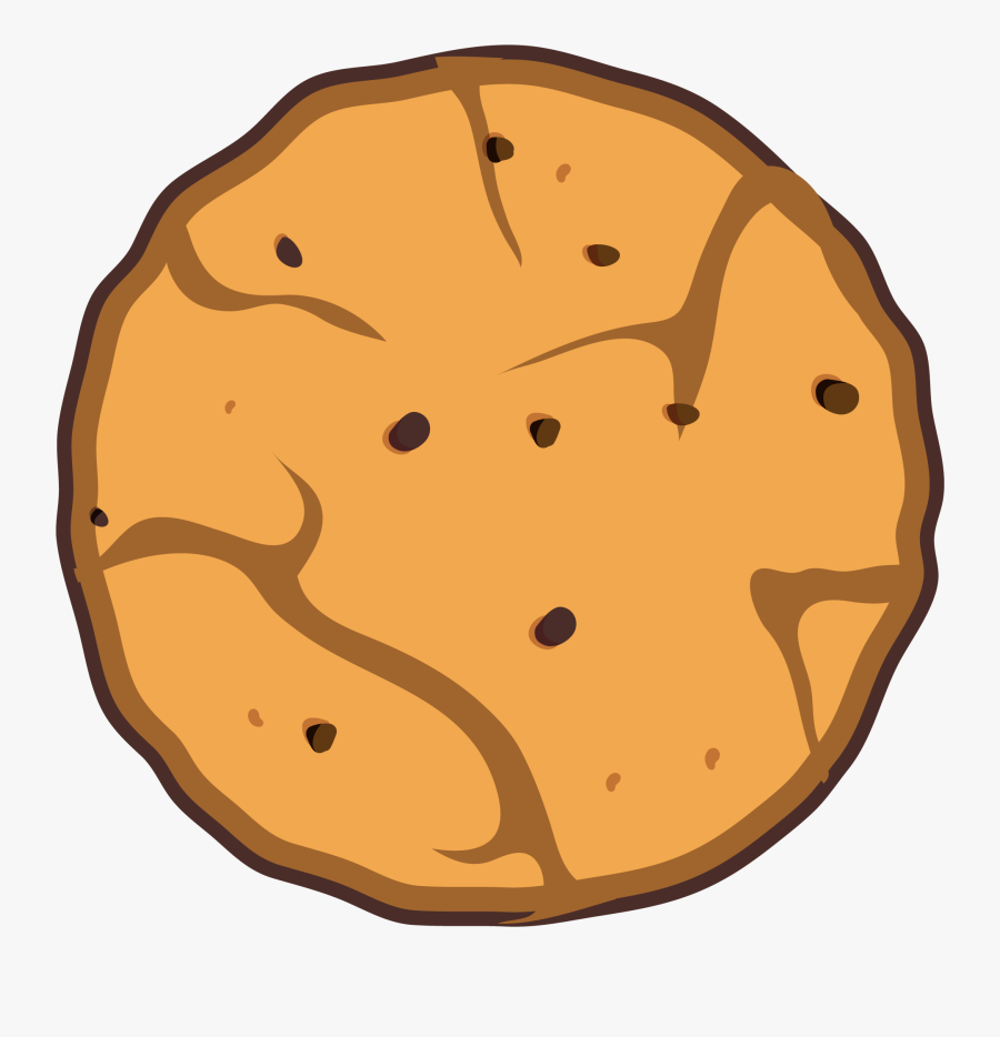 Chocolate Chip Cookie, Transparent Clipart