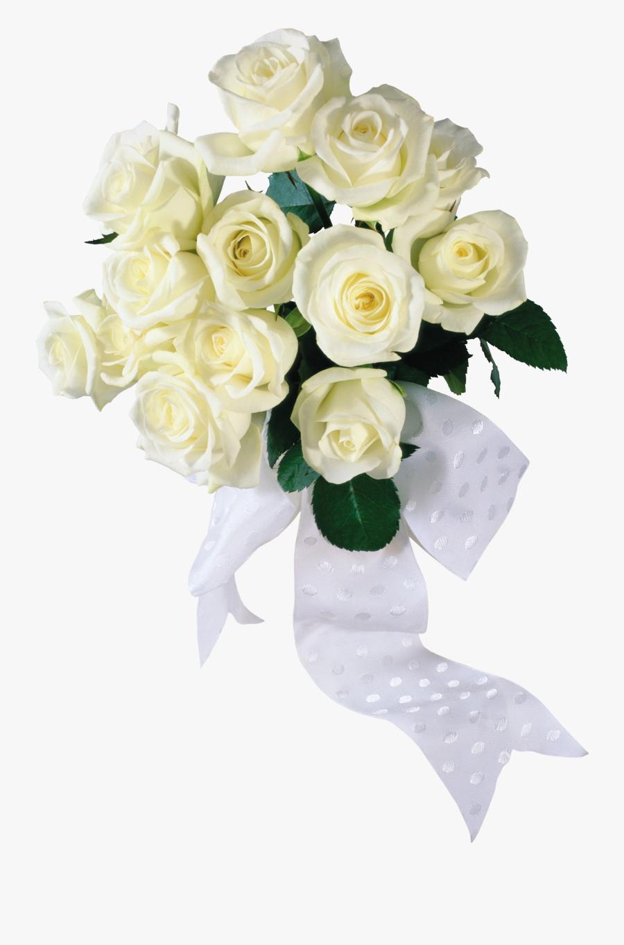 White Roses Png Images, Free Download Flower Pixtures - Wedding Flower Bouquet Png, Transparent Clipart