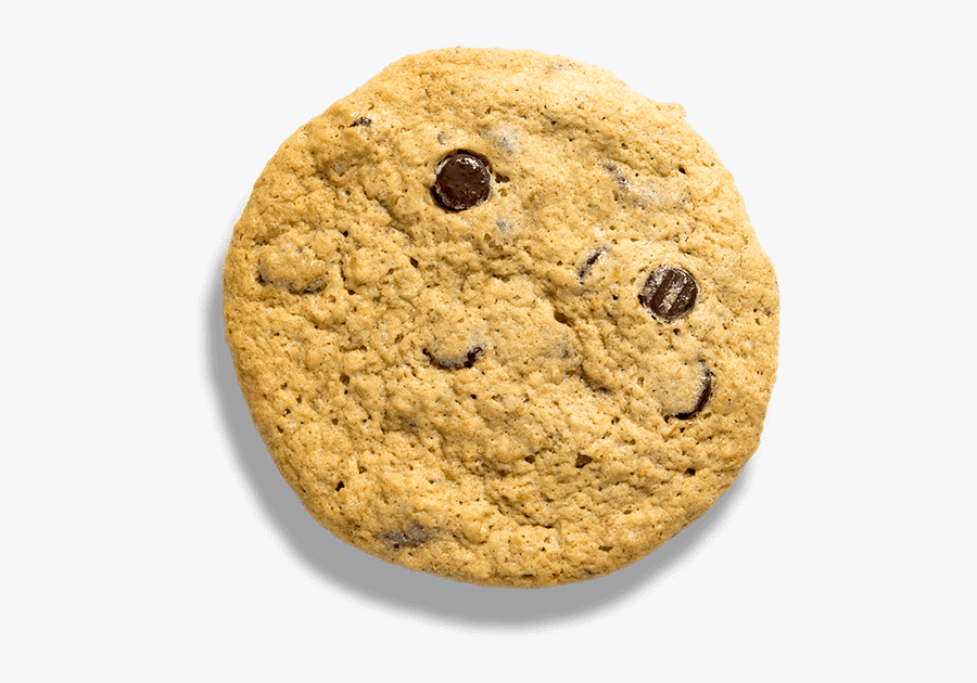 Chocolate Chip - Chocolate Chip Cookie, Transparent Clipart