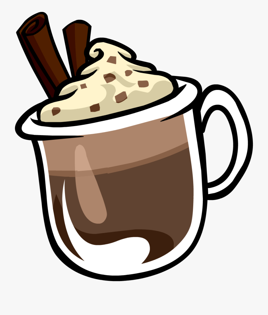 French Hot Chocolate Clipart, Transparent Clipart