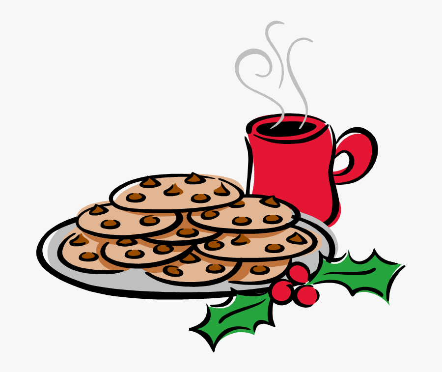Free Cookies And Hot Chocolate Clip Art, Transparent Clipart