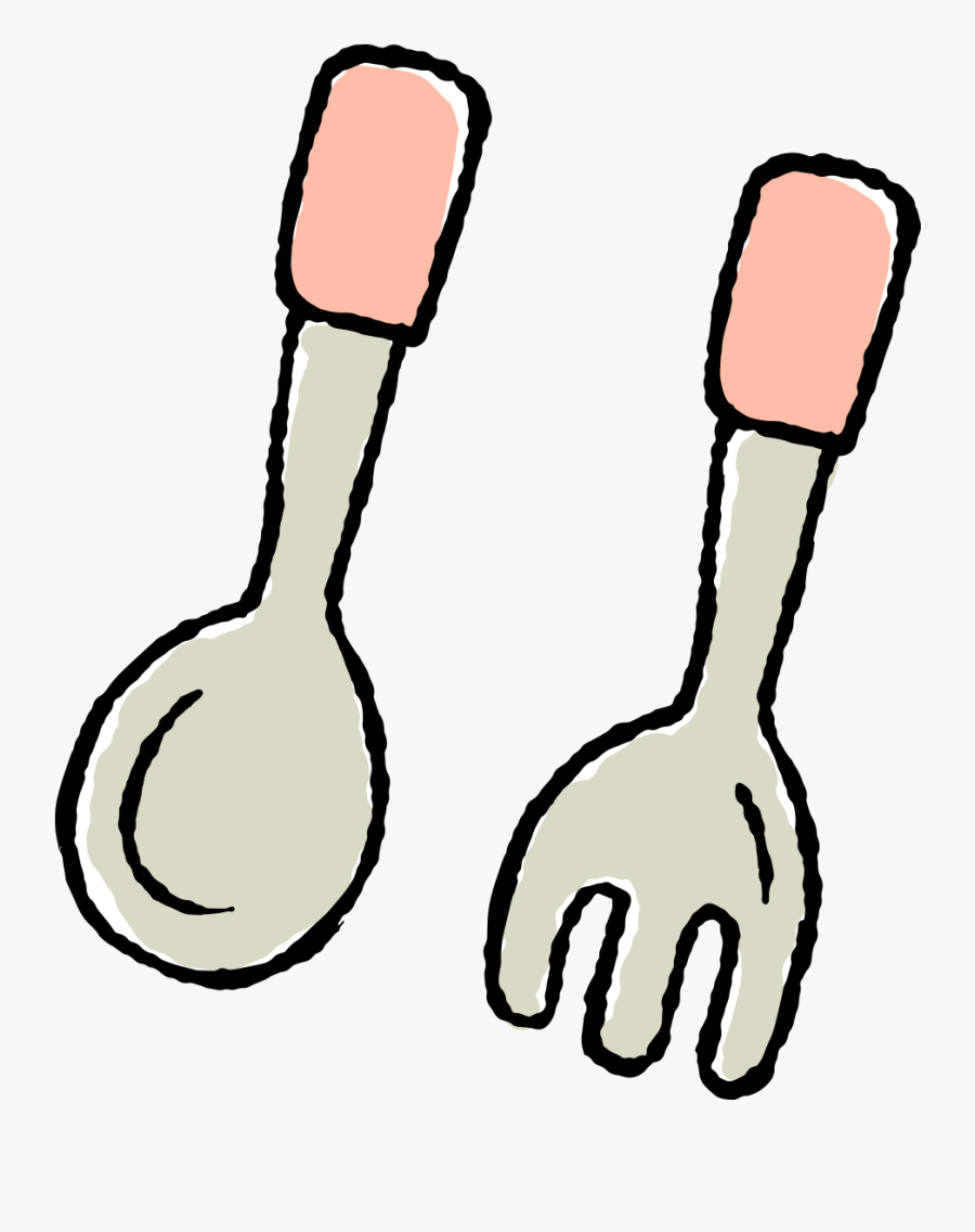 Spoon And Fork Clipart At Getdrawings - Spoon And Fork Clipart, Transparent Clipart