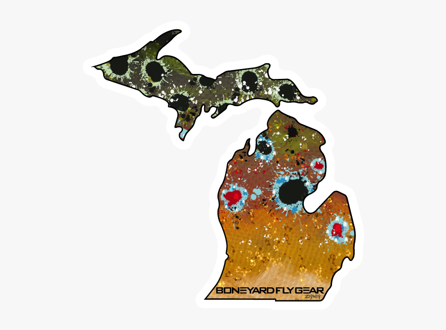 Michigan Brown Trout - Area Code Is 586, Transparent Clipart