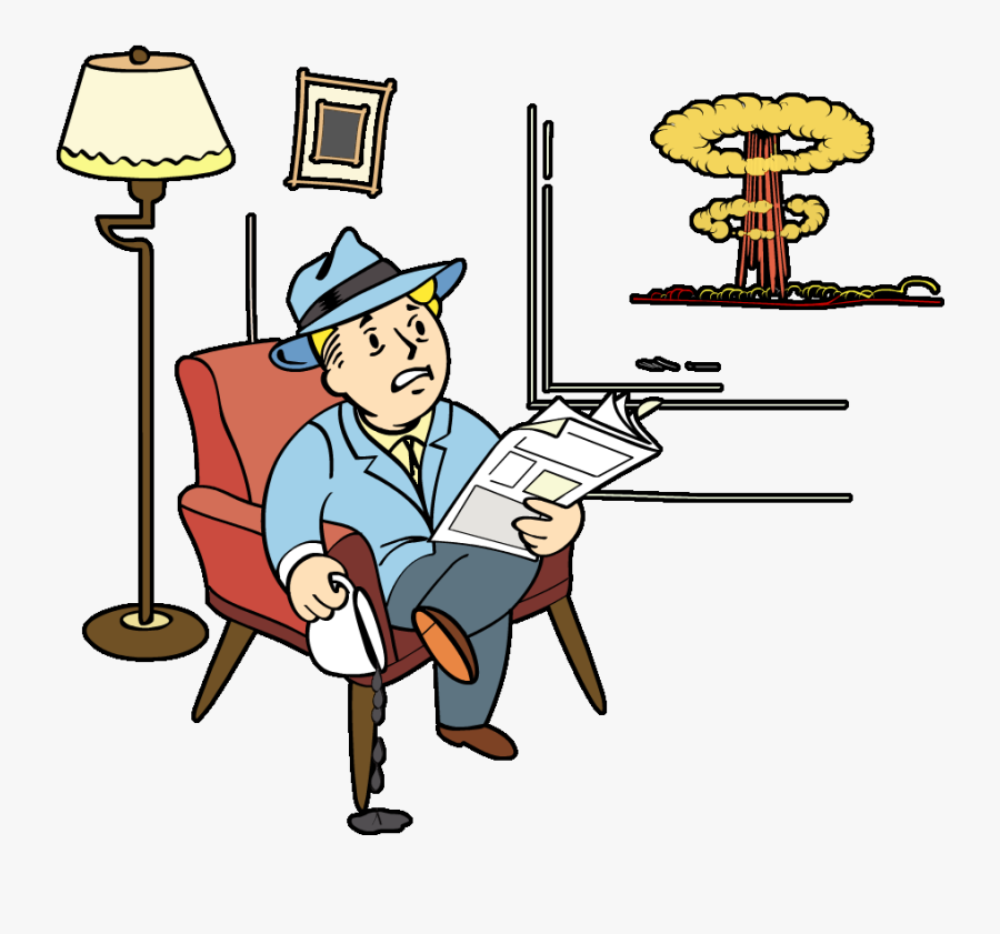 Constitution Clipart Pen And Paper - Fallout 4 War Never Changes Icon, Transparent Clipart