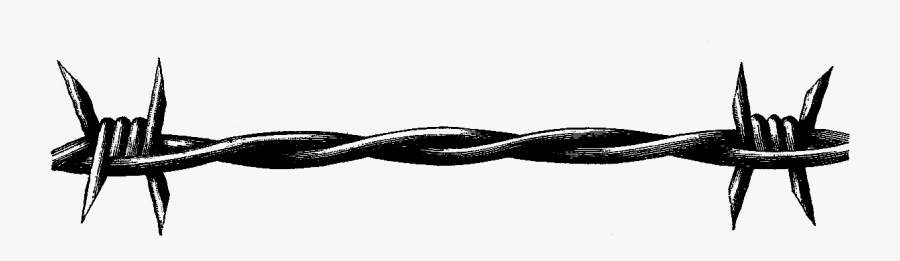 Barbed Wire Border Clip Art - Barbed Wire Border Png, Transparent Clipart