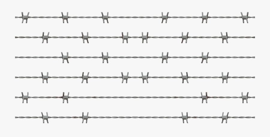 Transparent Barbed Wire Border Png, Transparent Clipart