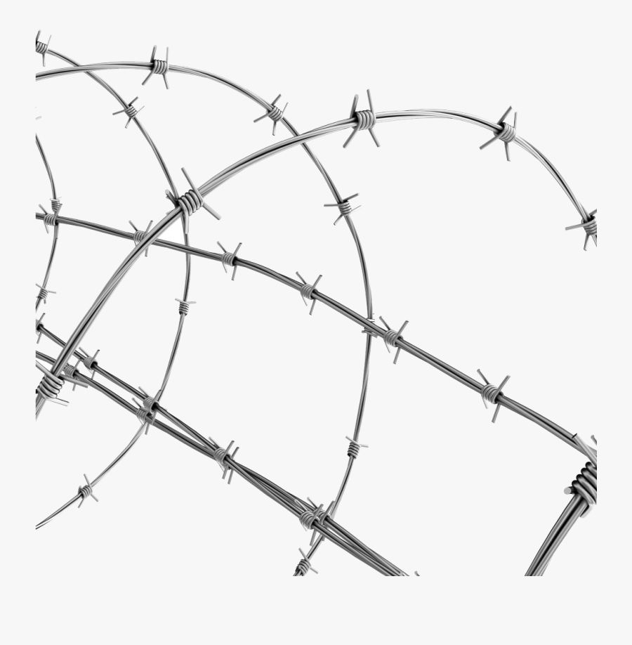 Transparent Barbwire Clipart - Transparent Background Barbed Wire Png, Transparent Clipart