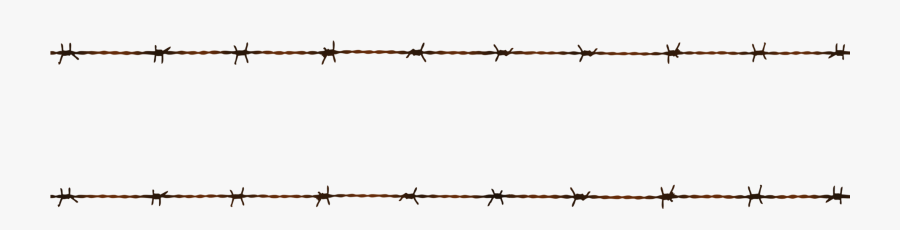 Transparent Barbed Wire Border Png - Barbed Wire, Transparent Clipart