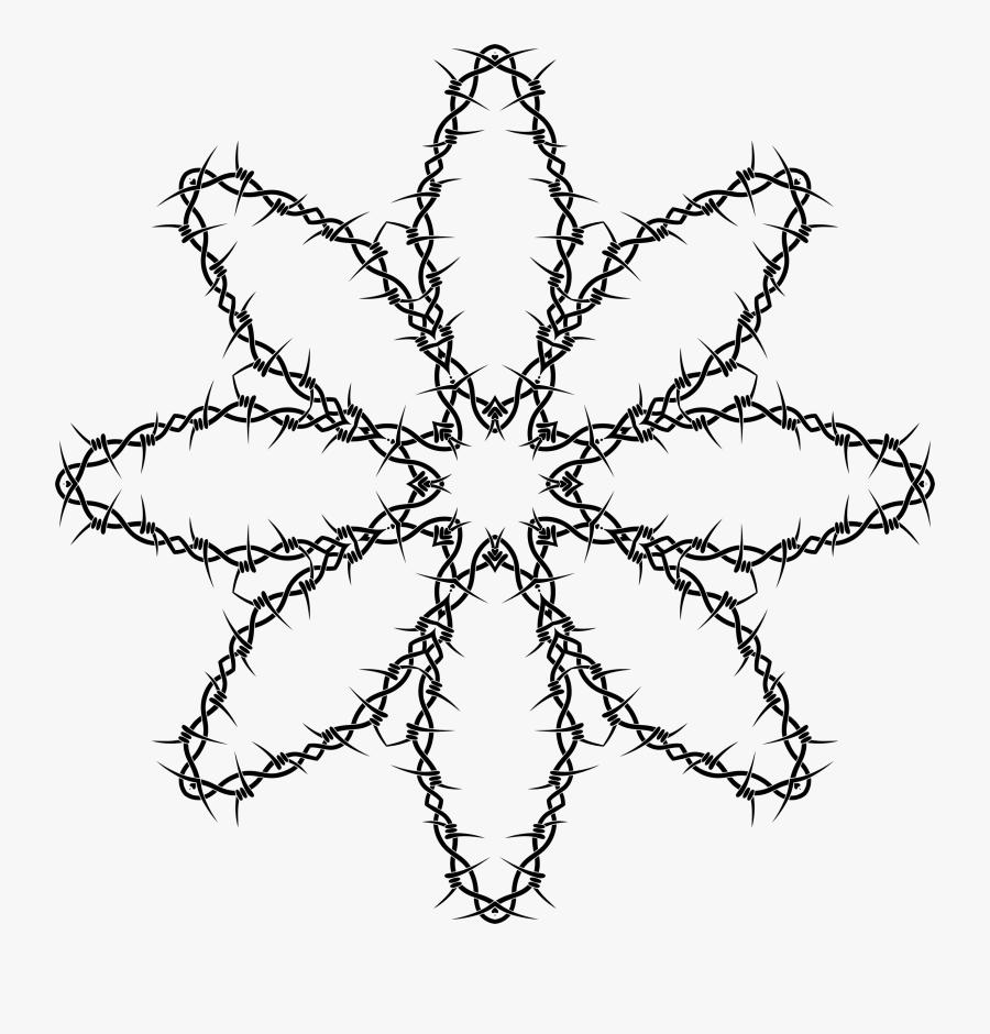 Line Art,leaf,symmetry - Flower Ios Icon, Transparent Clipart
