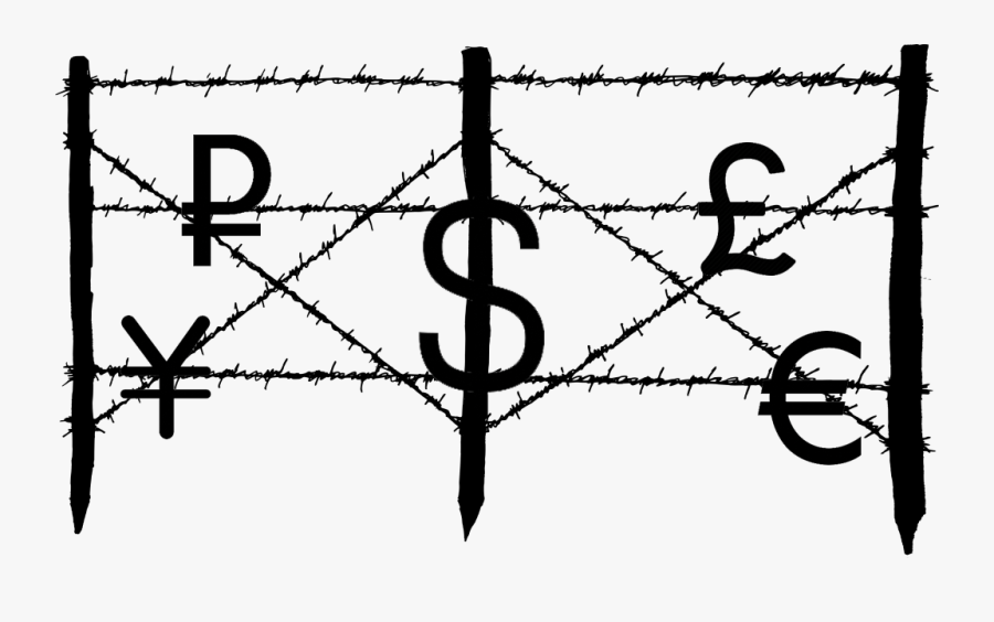 Transparent Barbed Wire Border Png - Transparent Fence Barb Wire Png, Transparent Clipart