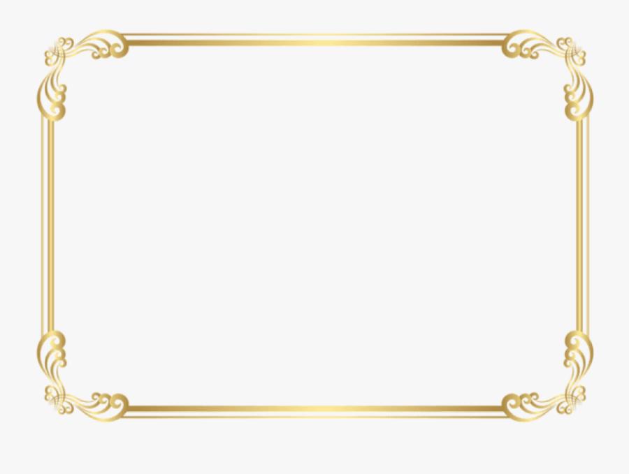 Border Pictures Trzcacak Rs Download - Gold Frame Border Clipart, Transparent Clipart