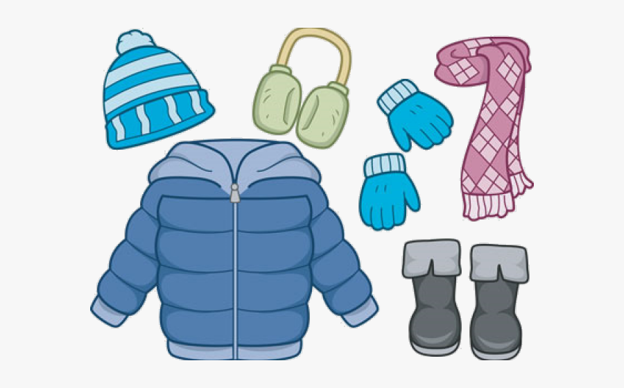 Coat Hat And Gloves , Free Transparent Clipart - ClipartKey