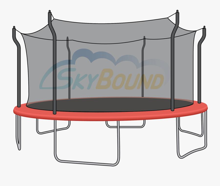 Trampoline Net, Transparent Clipart