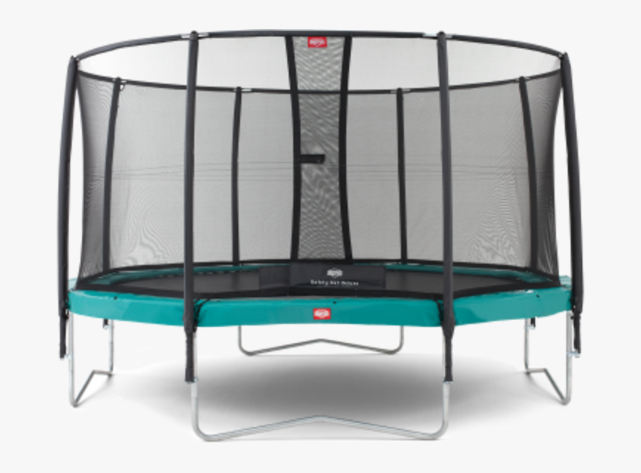 Trampoline Safety Net Enclosure Jump King Hudora Sporting - Berg Trampolines, Transparent Clipart