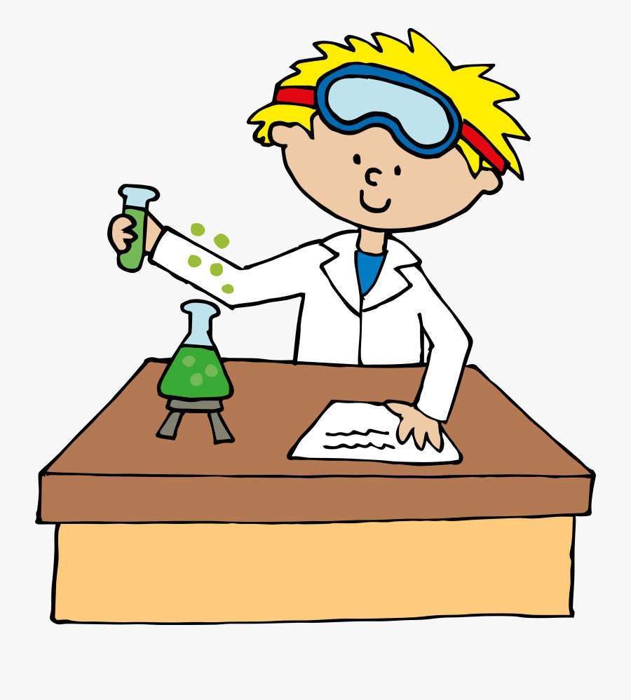 Png Black And White Stock Cliparthot Of Science Sciences - Science Lab Clipart, Transparent Clipart