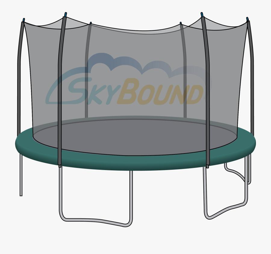 15 Ft Trampoline Net - 15 Ft Skywalker Trampoline, Transparent Clipart