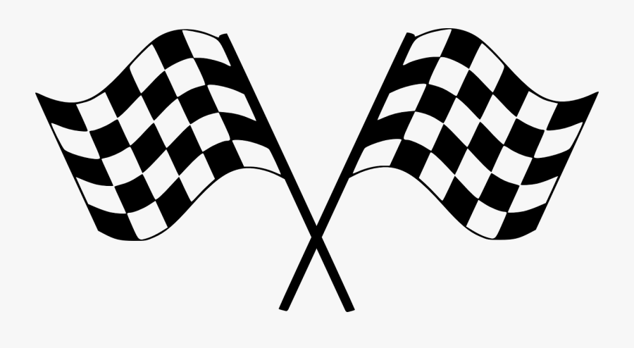 Clip Art Picture Freeuse Huge - Checkered Flag, Transparent Clipart