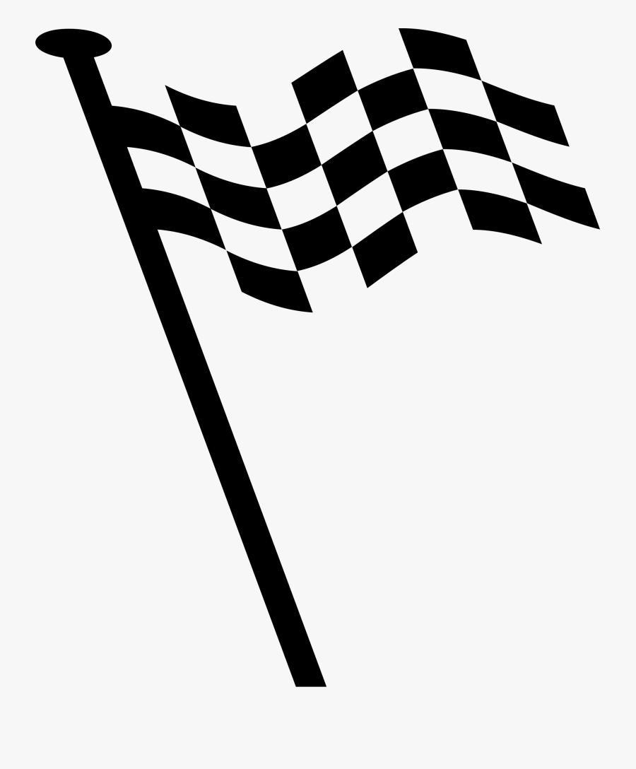 Clip Art Finish Line Vector - Logo Bendera Race Png, Transparent Clipart