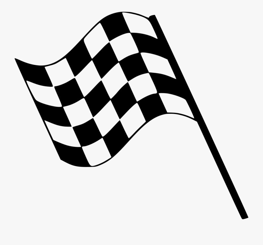 Clip Art Racing Flag, Transparent Clipart